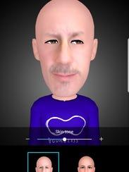 Creating Ed Baig's AR Emoji