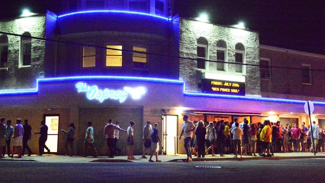 The Osprey Nightclub in Manasquan.