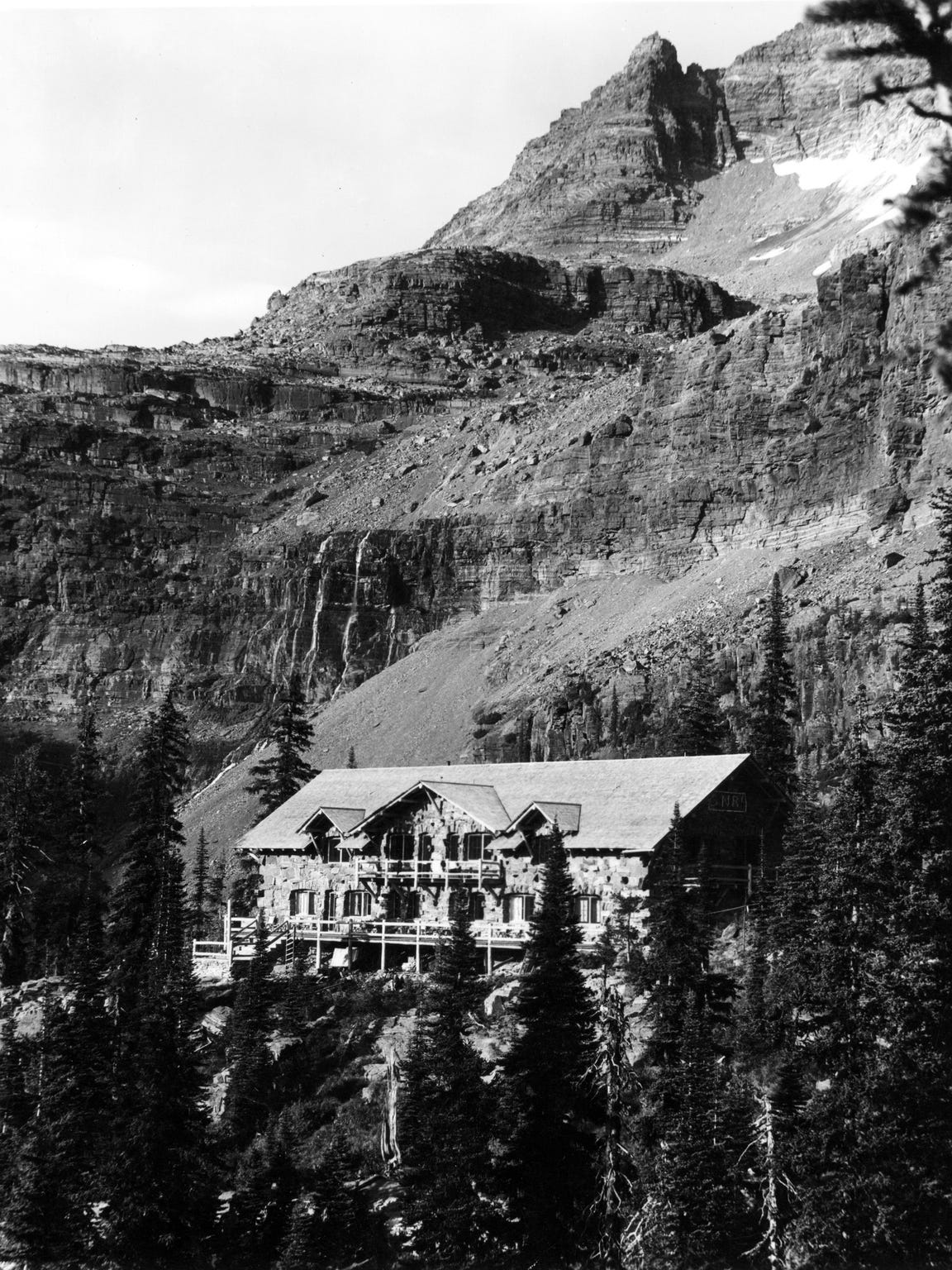 Sperry Chalet, ca. 1915.
