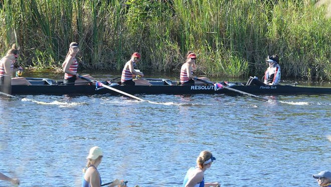 FIT women's rowers have a big day in Fellsmere.