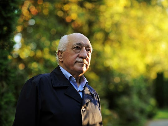In this Sept. 24, 2013, file photo, Turkish Islamic preacher Fethullah Gulen is pictured at his residence in Saylorsburg, Pa.