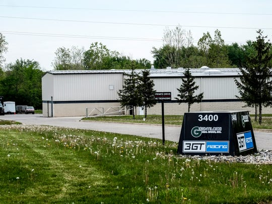 This Gentilozzi property at 3400 West Rd. in East Lansing is the home of 3GT Racing.