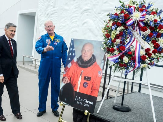 Kennedy Space Center Visitor Complex Remembers John Glenn