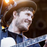 Brian Fallon pleases the crowd at his Friday Summerfest performance.