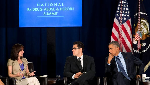 President Barack Obama and Young People in Recovery