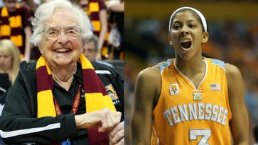 Candace Parker gets Sister Jean's blessing to join Loyola bandwagon