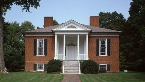 Farmington, 3033 Bardstown Road in Louisville, is a stop on the Kentucky Lincoln Heritage Trail.
