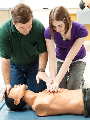 Vassar Brothers Medical Center and National Safety Awareness offer CPR classes.
