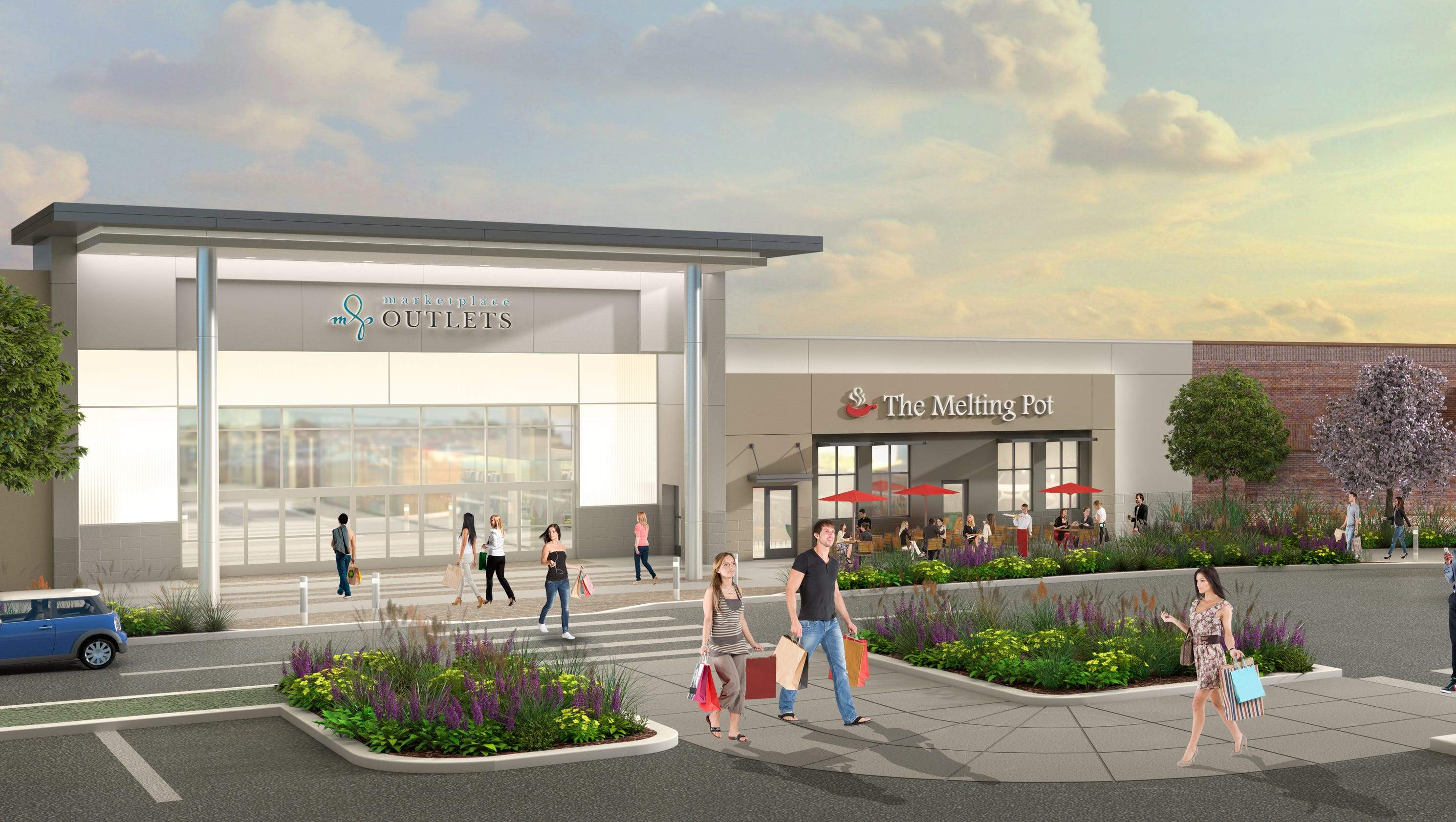 Marketplace Outlets! Wilmorite announces that The Marketplace Mall in Henrietta, NY will convert to an outlet center. The mall will undergo capital improvements, remerchandising of the retail mix, and be rebranded as Marketplace Outlets.