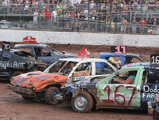 OSH Demolition Derby 080914 020