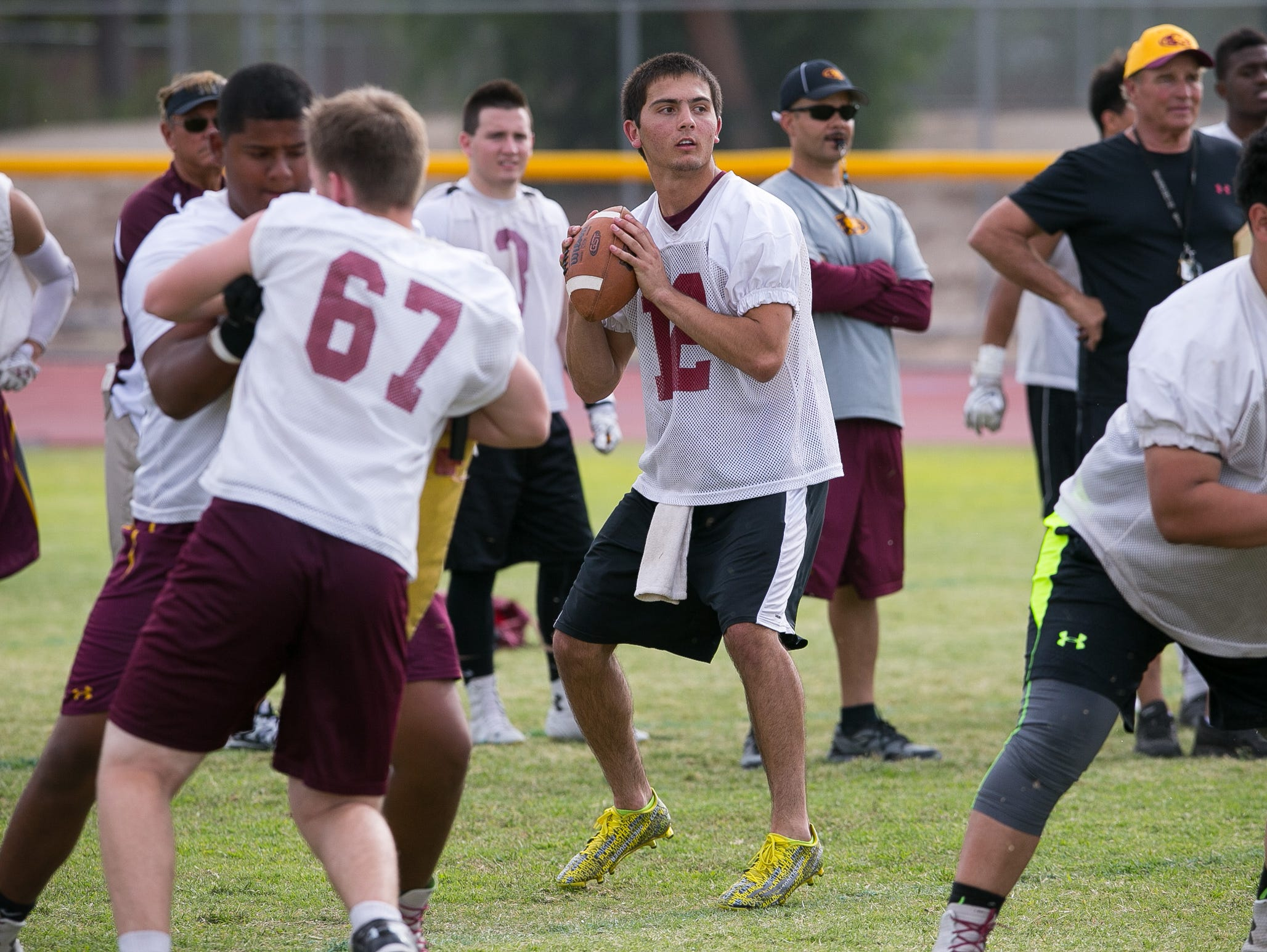 Phoenix Mountain Pointe's game against Phoenix Desert Vista on Oct. 1 will be featured in Cox7's blockbuster Thursday night football lineup.