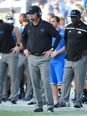 UCLA Bruins head coach Jim Mora.