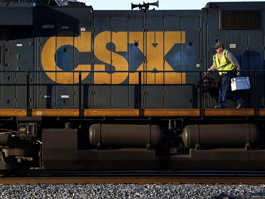 The federal investigation into stolen key fobs focused on a CSX freight yard.