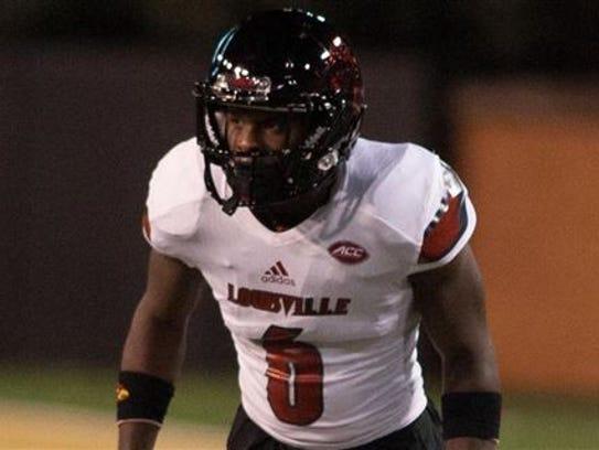 Former Louisville cornerback Shaq Wiggins