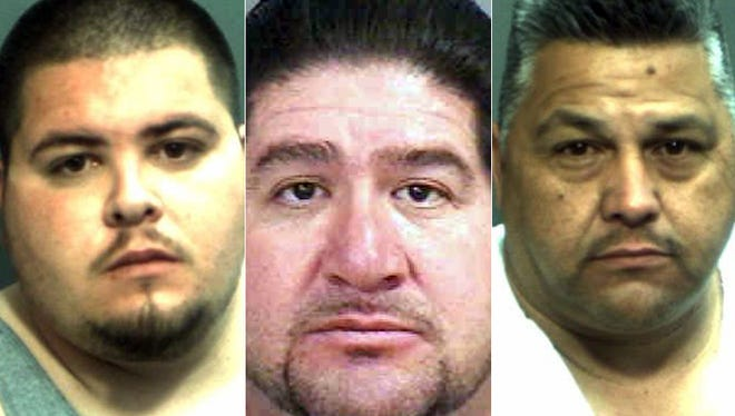 Johnathan Contreras, Henry Contreras and Andres Perez