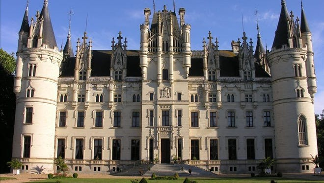 Luxury and romance define this fairytale chateau in France's Loire Valley. Live out your royal dreams in this one-of-a-kind picturesque Cinderella castle. This 11-bedroom sleeps 30 and starts at $4,474 per night. http://luxury.homeaway.com/vacation-rental/p230230