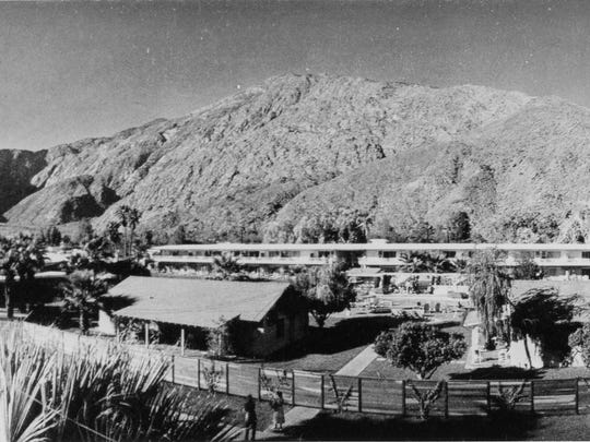 The Oasis Hotel as it appeared in 1952.