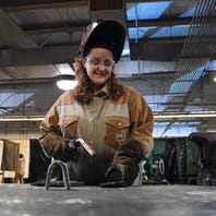Jones County Junior College student goes from addiction and jail to welding career