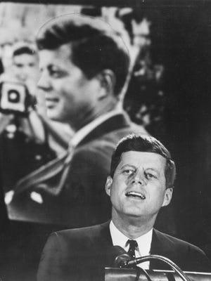 John F. Kennedy visiting Milwaukee in 1960.