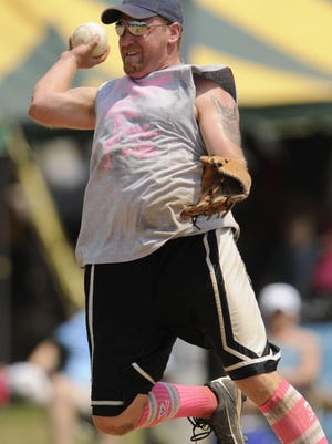 The 32nd annual Pink Flamingo Slo-Pitch Festival boasts three days of softball and off-the-field fun that includes a parade and Big Mouth concert.