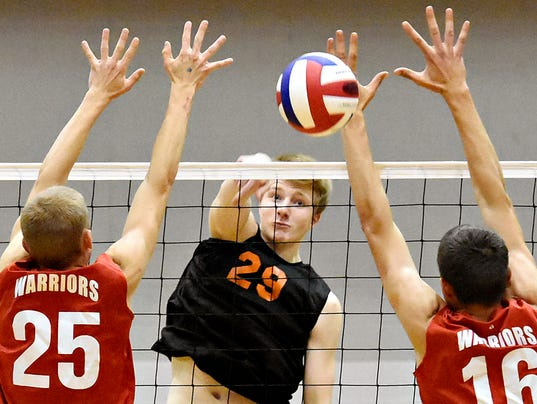 York Suburban vs Susquehannock volleyball