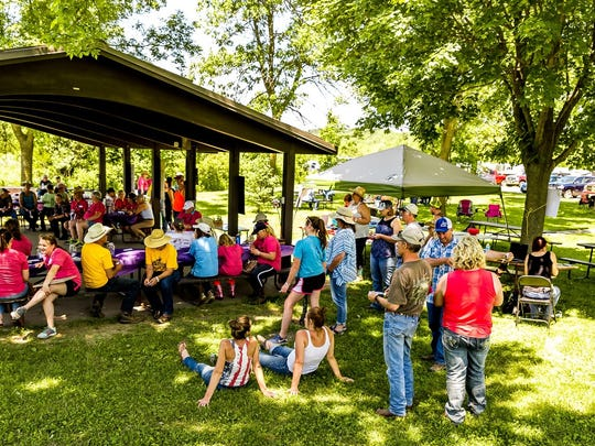 Funds raised from the event help to support a new equestrian campground at Governor Dodge State Park.