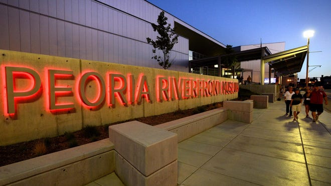 The Peoria Riverfront Museum is pictured here in this 2013 file photo.