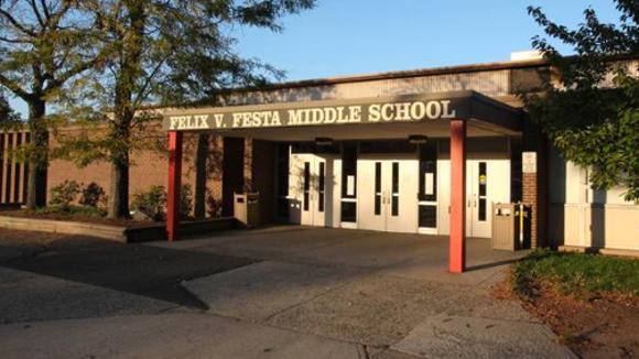 Felix Festa Middle School in Clarkstown.
