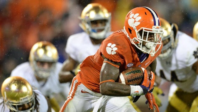 Clemson will face Notre Dame eight times between now and 2037.
