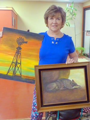 Linda Click painted for 50 years before setting up her first art show from 2 p.m. to 5 p.m. July 29, at Cree Meadows Country Club. One hundred pieces of her work, spanning oil, watercolor and pastels, will be on display and for sale.