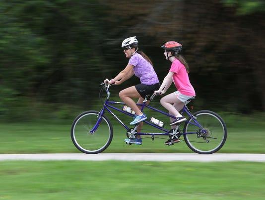 Blind Bike Ride