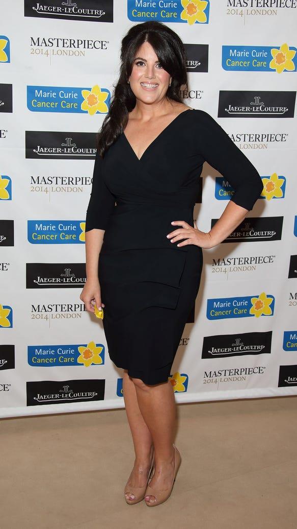 Monica Lewinsky in London