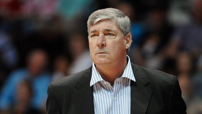 New York Liberty head coach Bill Laimbeer.