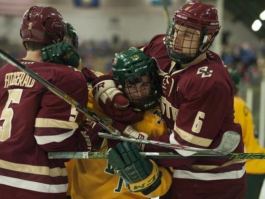 Boston College vs. Vermont Men's Hockey 02/19/16