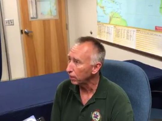 Recently retired Indian River County Fire Rescue Assistant Chief Brian Burkeen.