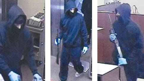 Police released suspect photos in the Thursday night Chase Bank robbery.