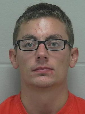 Jeffrey J. Schuette, 26, is facing 18 months in jail for allegedly beating up his bride on their wedding night Aug. 16, 2014, in Sheboygan, Wis.