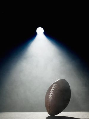 American football in spotlight