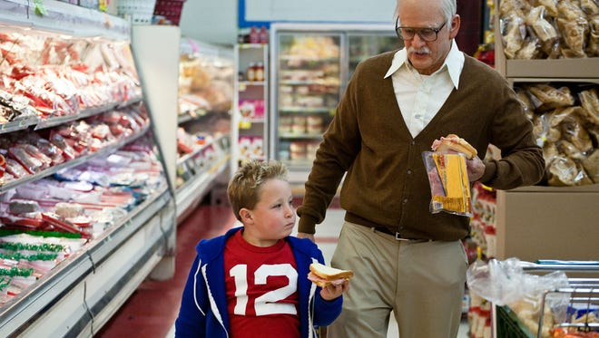 """Jackson Nicoll and Johnny Knoxville star in """"Jackass Presents: Bad Grandpa."""""""