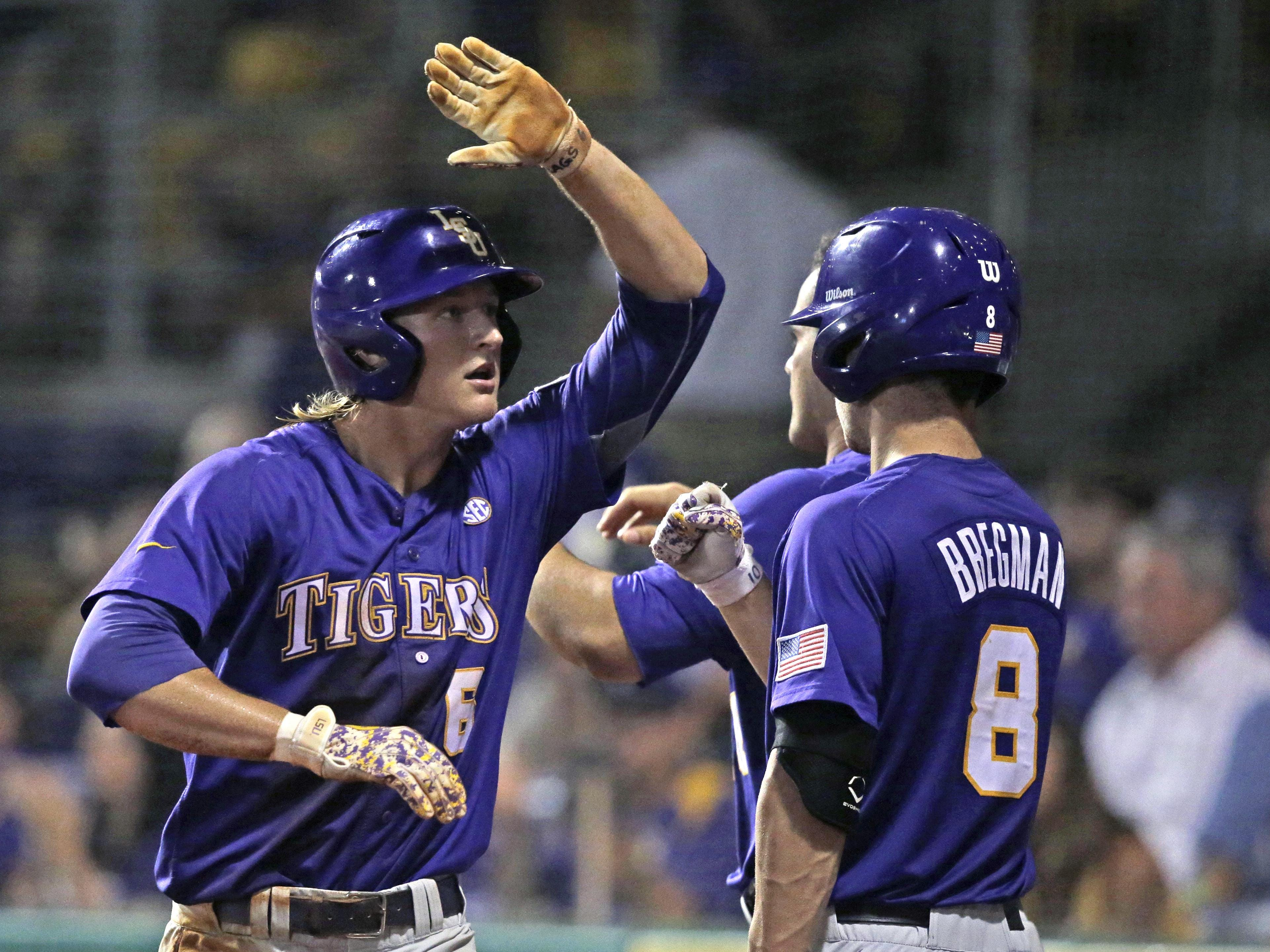 LSU baseball game postponed until noon Monday | USA TODAY ...