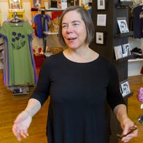 Twig n' Thread, a pop-up shop located inide Atomic Tom's in downtown Binghamton, sells unique decor and vintage items says co-owner Sherrie Stebbins Rinker.