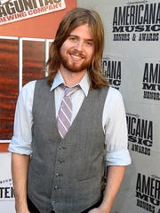 Andrew Leahey at the 2016 Americana Music Honors and Awards Show at Ryman Auditorium Wednesday, Sept. 21, 2016, in Nashville, Tenn.