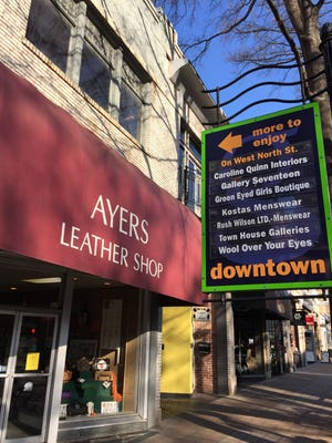 The future of Ayers Leather Shop is uncertain.
