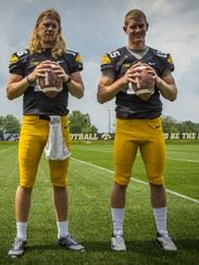 C.J. Beathard and Jake Rudock in 2014.