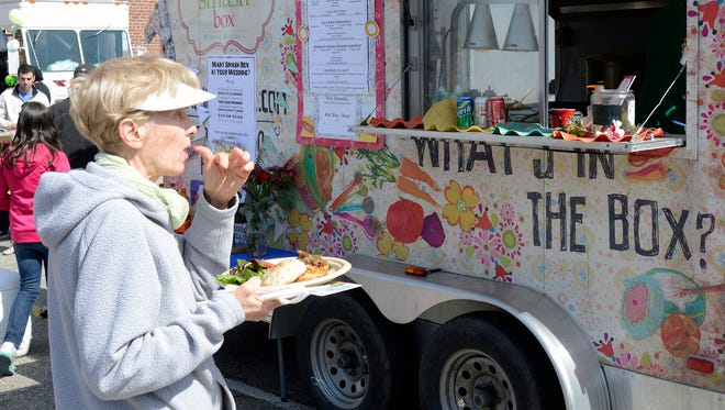 Ten local food trucks battled it out at the Food Truck Showdown in 2014.