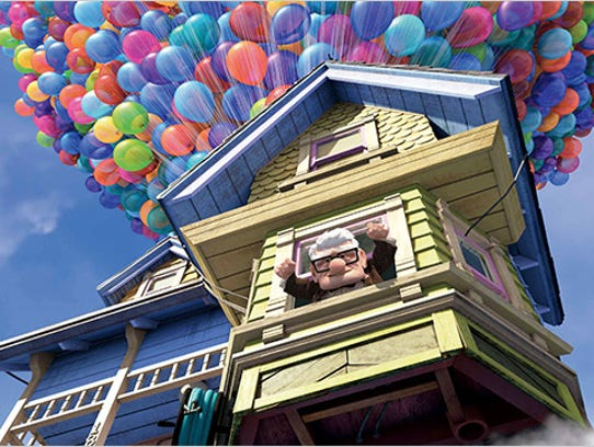 "Ed Asner does the voice of curmudgeonly Carl in ""Up."""