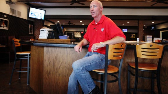 Danny Guidry, project manager of repairs and renovations at Pete's, speaks to The Advertiser Tuesday, May 19, 2015, at Pete's in Lafayette, La.