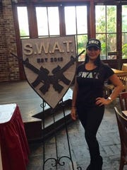 At the Krewe of S.W.A.T.'s first official meeting.