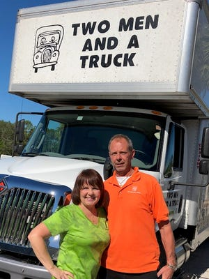 Mark and Brenda VanAntwerp own the Two Men and a Truck franchise at 325 Stan Dr., Melbourne