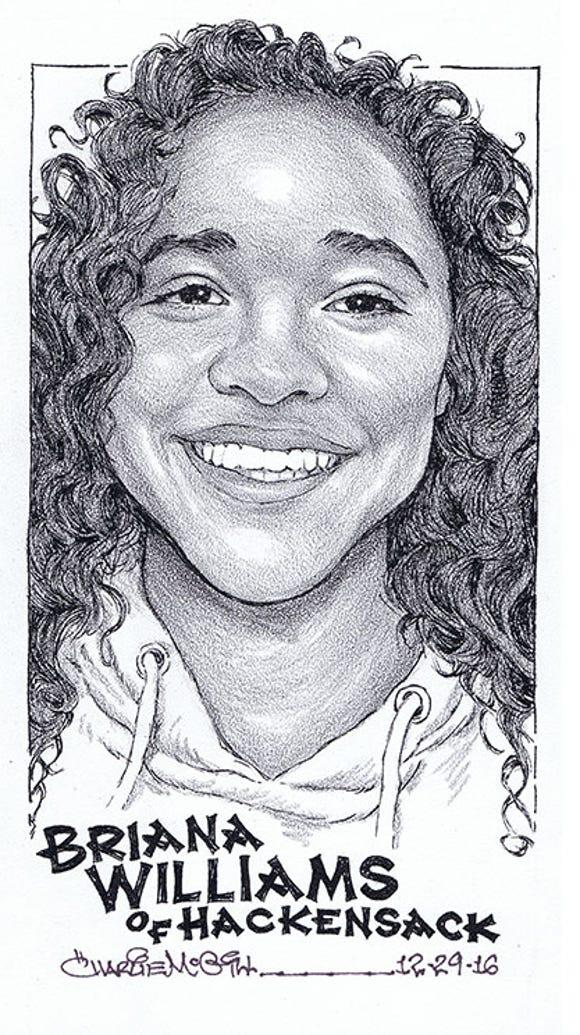 Briana Williams, Hackensack High School, swimming